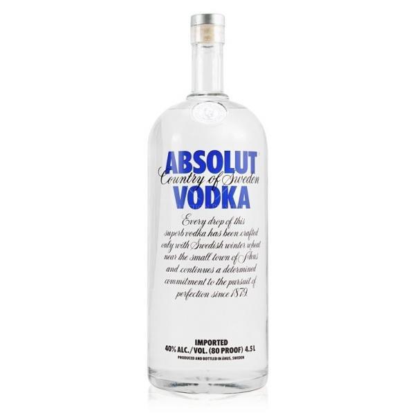 Vodka Absolut 4.5L