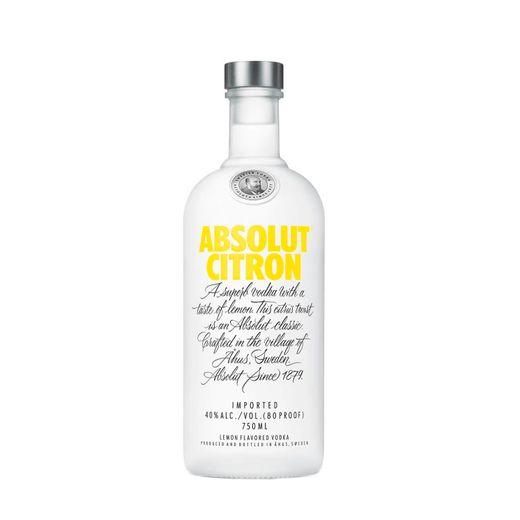 Vodka Absolut Citron 750ml (Limão)