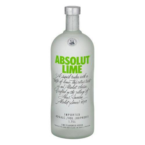 Vodka Absolut Lime 1l