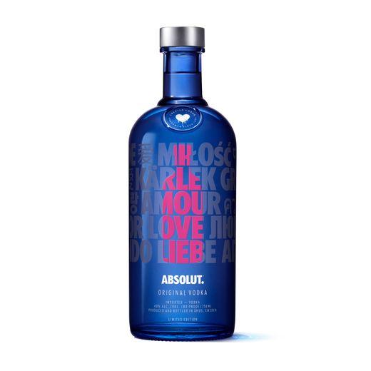 Vodka Absolut Love Drop Eoy 1L