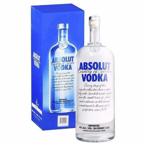 Vodka Absolut Tradicional 4,5l