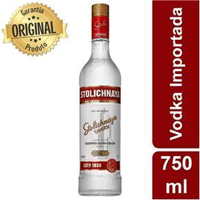 Vodka Importada Stolichnaya Premium Letonia - 750ml
