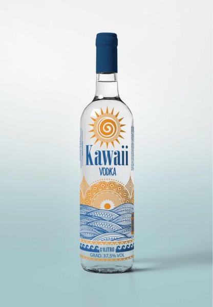 Vodka Kawaii 1 Litro - Thikara