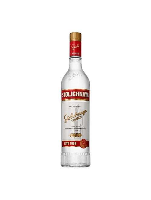 Vodka Russa Stolichnaya Premium Letonia 750ml