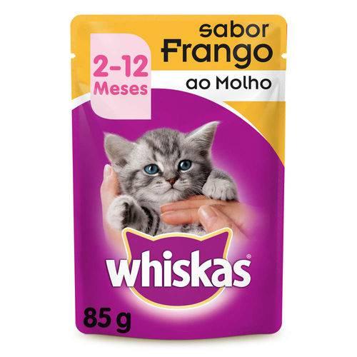 Whiskas Sachê Filhote Frango - 85g