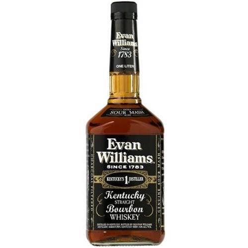 Whisky Bourbon Evan Williams Black 1000 Ml