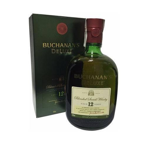 Whisky Buchanan's de Luxe 12 Anos 1litro