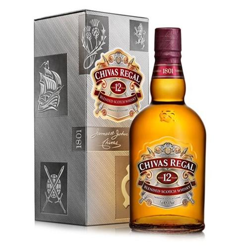 Whisky Chivas Regal 750ml 12a
