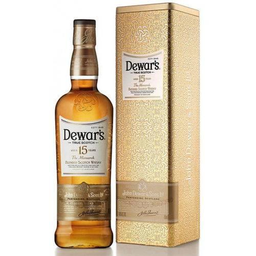 Whisky Dewars 15 Anos The Monarch 750ml Lata