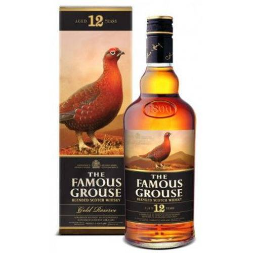 Whisky Escocês The Famous Grouse Gold Reserve 12 Anos 1000 Ml