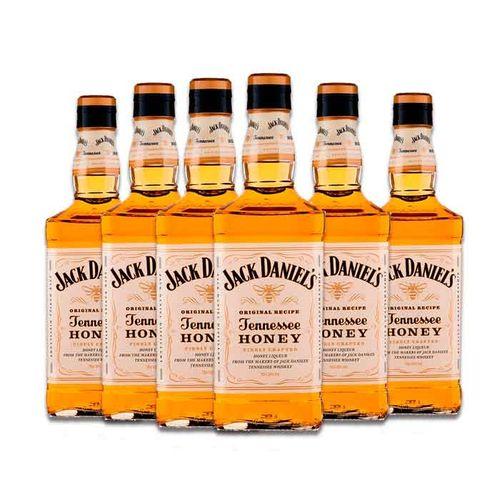 Whisky Jack Daniels Honey X6 1L