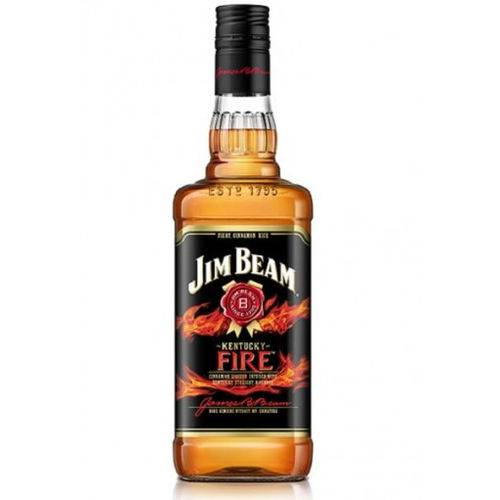 Whisky Jim Beam Fire 1000 Ml