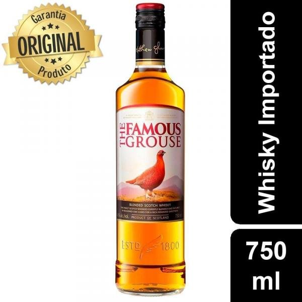 Whisky The Famous Grouse Escoces - 750ml