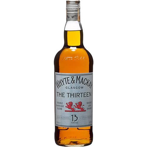 Whisky Whyte & Mackay 13 Anos - 1000ml