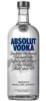 Ficha técnica e caractérísticas do produto Absolut Vodka 1 L