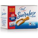Adoçante Dauf Stevia Leve 70 Pague 50 Envelopes