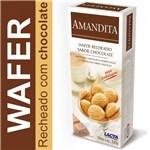 Ficha técnica e caractérísticas do produto Amandita Wafer Recheado Chocolate 200g - Lacta