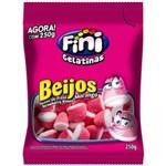 Ficha técnica e caractérísticas do produto Bala Beijos de Morango Fini