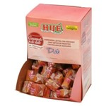 Bala de Caramelo com Morango Display 700 Gramas Diet Hué