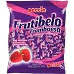 Bala Mastigável Sabor Framboesa Frutibelo Peccin 600g