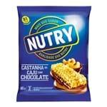 Barra de Cereal Nutry Castanha/Chocolate 66g C/ 3 Unidades