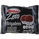 Barra de Cereais Zero Açucar Sabor Brigadeiro 75g - Ritter