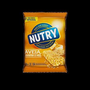 Barra de Cereal Nutry Banana/Aveia/Mel 66g C/ 3 Unidades