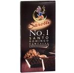 Barra de Chocolate Puro Sarotti No. 1 85% Cacau de Santo Domingo - Sarotti