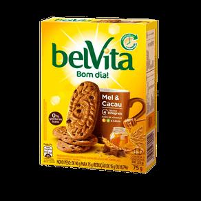 Biscoito BelVita Bom Dia! Mel e Cacau 90g (3x30g)