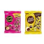 Bombom Chocolate Lacta Sonho de Valsa e Ouro Branco