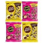 Bombom Chocolate Sonho de Valsa e Ouro Branco -04 Pacotes