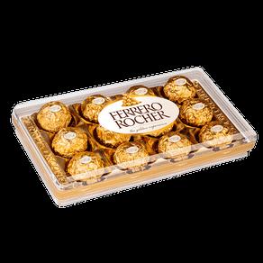 Ficha técnica e caractérísticas do produto Bombom Recheado Ferrero Rocher 150g (12 Unidades)