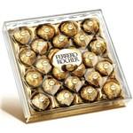Caixa de Bombom Ferrero Rocher Diamante 300G 24 Unidades