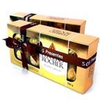2 Caixas de Bombons Ferrero Rocher 100 Gr para Presente