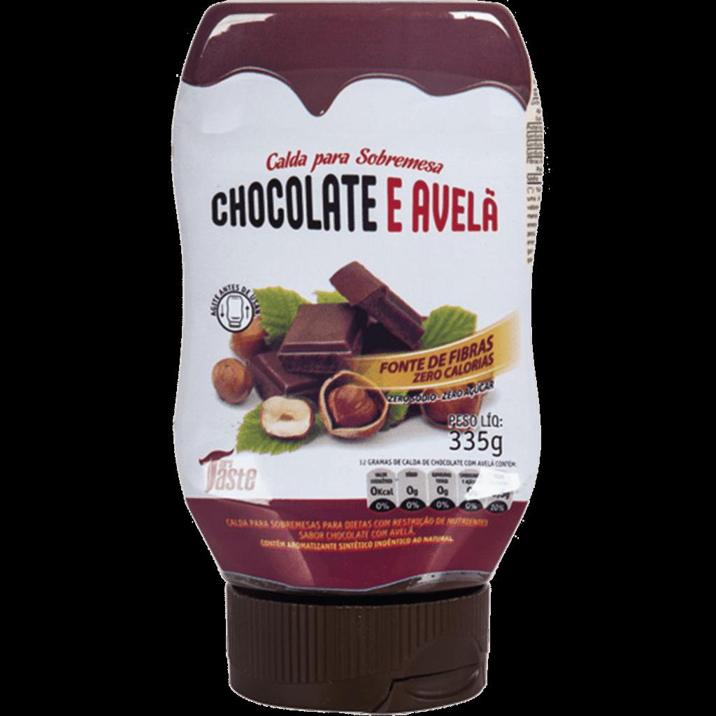 Ficha técnica e caractérísticas do produto Calda Chocolate Avela Zero 335G Mrs Taste