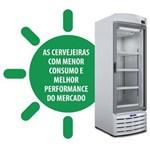 Ficha técnica e caractérísticas do produto Cervejeira / Expositor Vertical Porta de Vidro VN44RB Metalfrio - 434 Litros - 127V