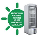 Ficha técnica e caractérísticas do produto Cervejeira / Expositor Vertical Porta de Vidro VN50RB Metalfrio - 572 Litros - 110V