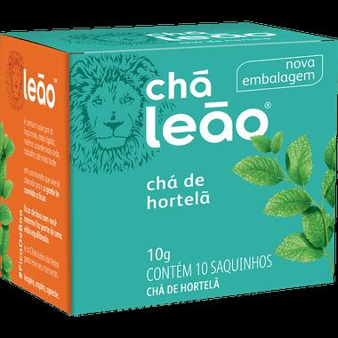Ficha técnica e caractérísticas do produto Chá de Hortelã Leão 10g
