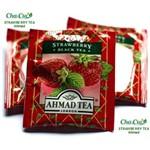 Chá de Morango (Strawberry Tea) Caixa com 10 Sachês de Alumínio de 2g