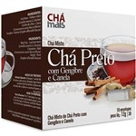 Ficha técnica e caractérísticas do produto Chá Preto/gengibre/canela 10env 12g Chá Mais