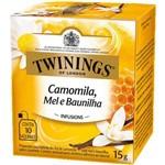 Chá Twinings Of London Camomila, Mel e Baunilha Caixa com 10 Sachês