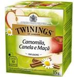 Chá Twinings Of London Chá Camomila, Canela e Maça Caixa com 10 Sachês