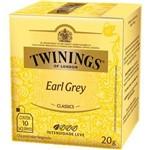 Chá Twinings Of London Chá Preto Earl Grey Caixa com 10 Sachês