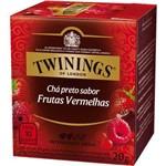 Chá Twinings Of London Chá Preto Frutas Vermelhas Caixa com 10 Sachês