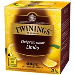Chá Twinings Of London Chá Preto Limão Caixa com 10 Sachês