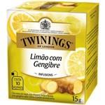Chá Twinings Of London Limão com Gengibre Caixa com 10 Sachês