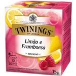 Chá Twinings Of London Limão e Framboesa Caixa com 10 Sachês
