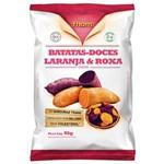 Chips Batata Doce Laranja e Roxa 45g - Fhom