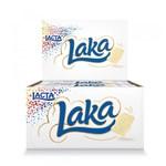 Ficha técnica e caractérísticas do produto Chocolate Branco Laka 20g C/20 - Lacta