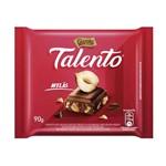 Ficha técnica e caractérísticas do produto Chocolate Garoto Talento ao Leite com Avelas 90g